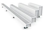 vrijstaande radiator